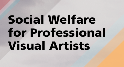 Social Welfare for Professional Visual Artists