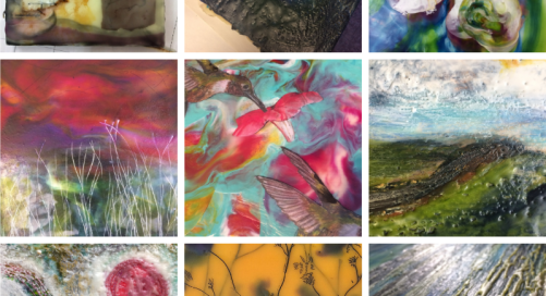 Early Bird Offer on Summer Encaustic Painting Workshops with Isabelle Gaborit, East Clare and Dublin