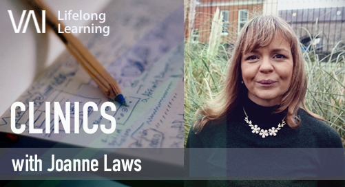 VAI Online: Clinic with Joanne Laws (Writing About Your Work)