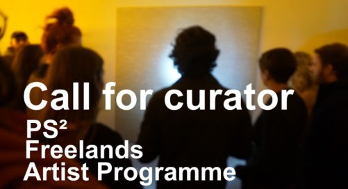 Job Vacancy | Curator for PS² Freelands Artist Programme (Part Time)