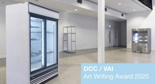 Open Call | DCC / VAI Art Writing Award 2020