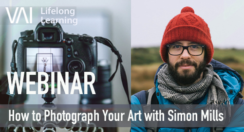 Webinar | How to Photograph Your Art with Simon Mills