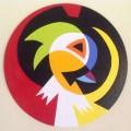 Seghers Koenraad 'Funky Bird' Acrylic paint