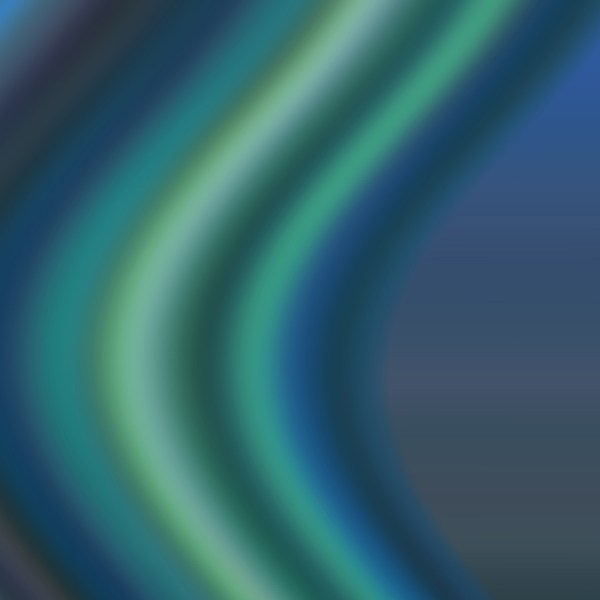 blurred blue and green color bend graphic