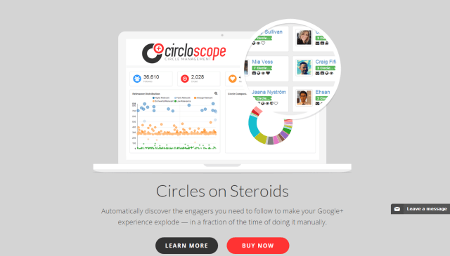 Circloscope Powerful Google Circle Management