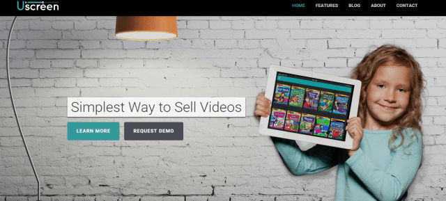 Uscreen Simplest way to sell videos.