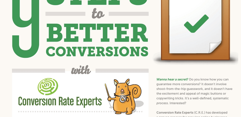 9 Steps to Better Conversions [Infographic]