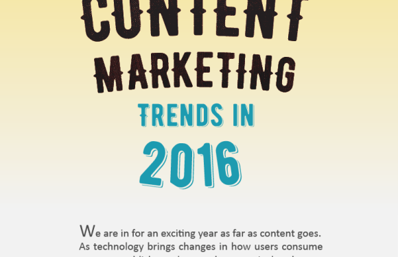 Content Marketing Trends in 2016 [Infographic]