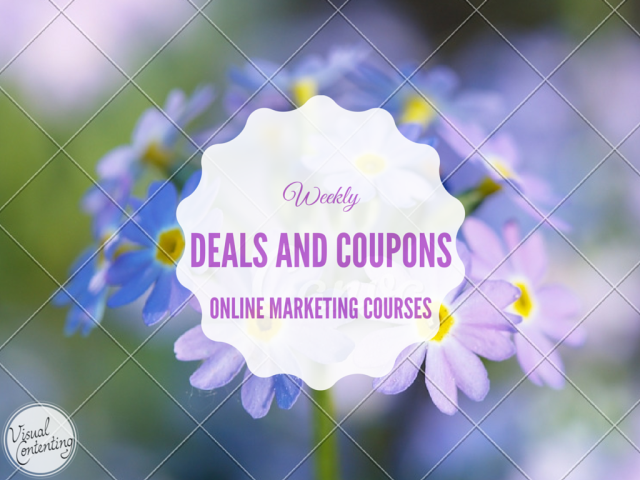 Weekly Online Marketing Course Deals and Coupon Codes Jan 25 – Feb 01 2016