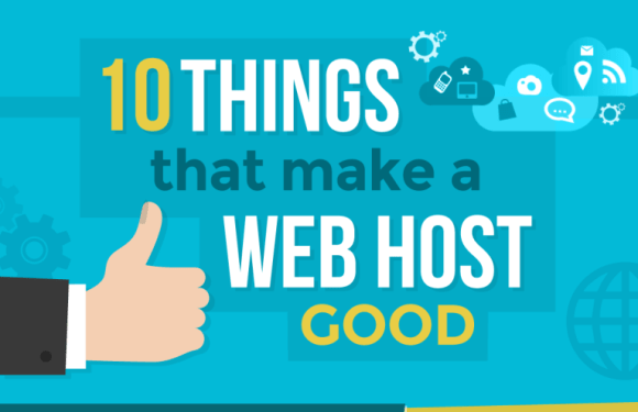 What Makes a Web Hosting Good? [Infographic]
