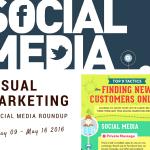 Visual Marketing and Social Media Roundup (May 09 – May 16 2016)