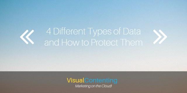 4 types of data