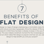7 Benefits of Flat Design [Infographic]