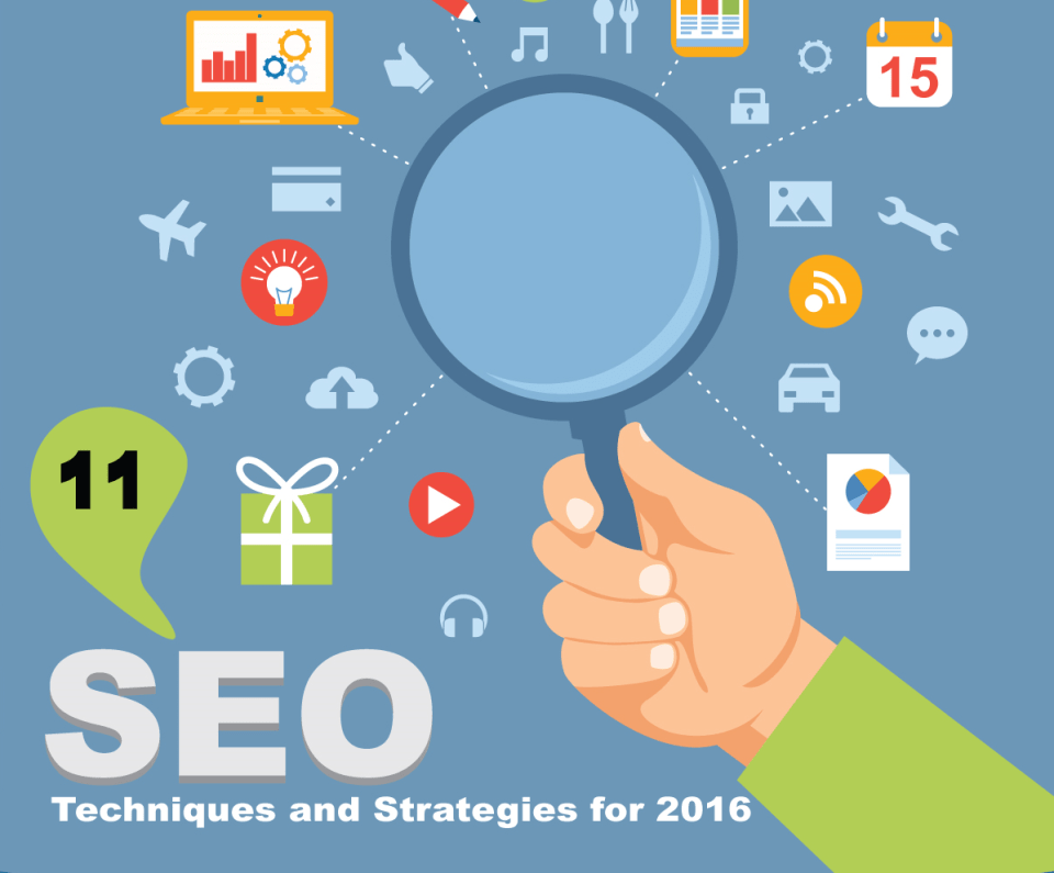11 SEO Techniques and Strategies for 2016 [Infographic]