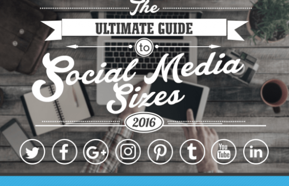 The Ultimate Guide to Social Media Image Sizes 2016 [Infographic]