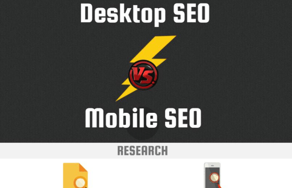 Desktop SEO VS. Mobile SEO [Infographic]