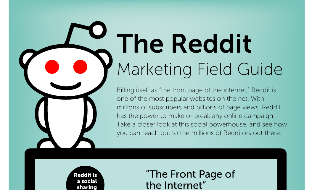 The Reddit Marketing Field Guide [Infographic]