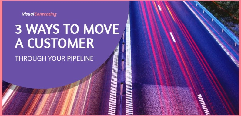 3 Ways to Move a Customer through Your Pipeline [Infographic]