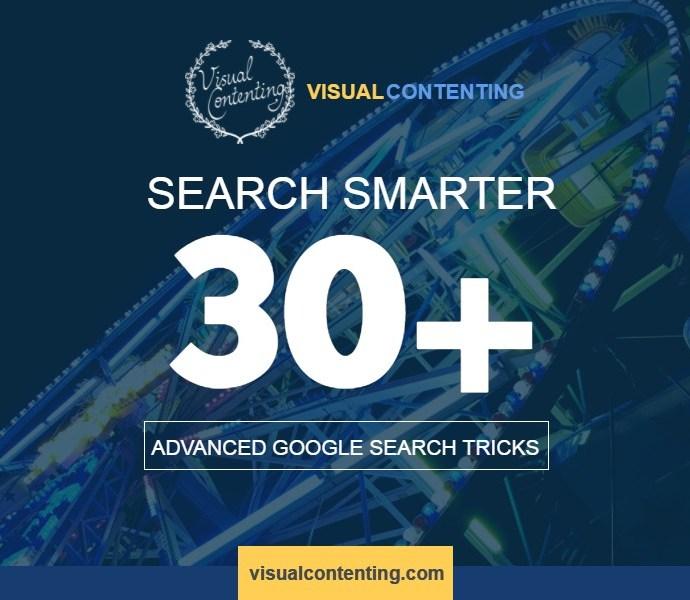 Search Smarter – 30+ Advanced Google Search Tricks [Infographic]