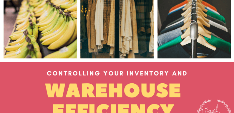 Controlling Your Inventory and Warehouse Efficiency [Infographic]