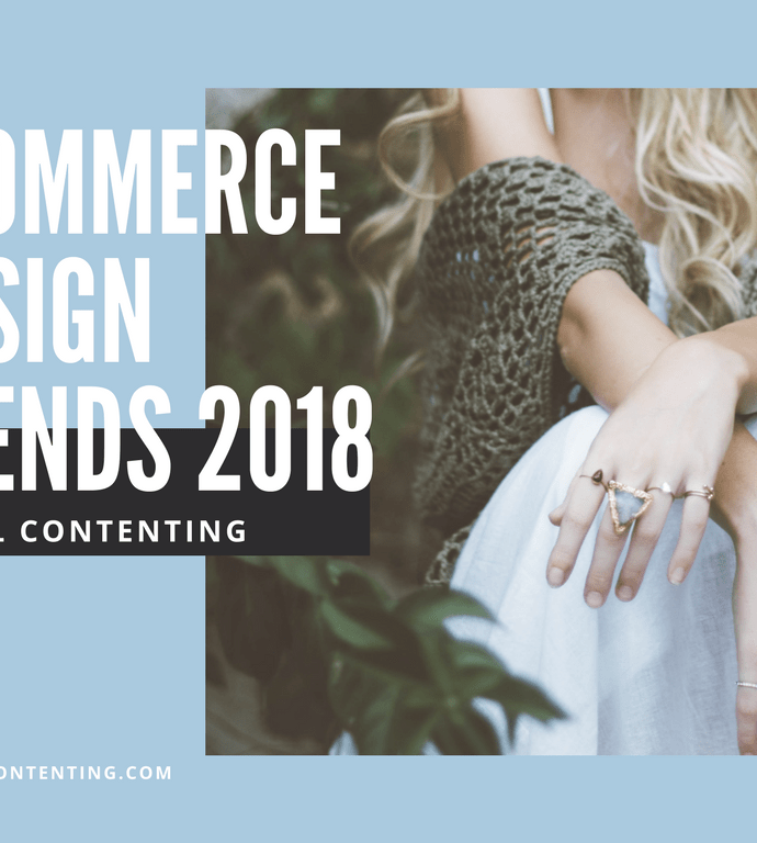 eCommerce Design Trends 2018 [Infographic]