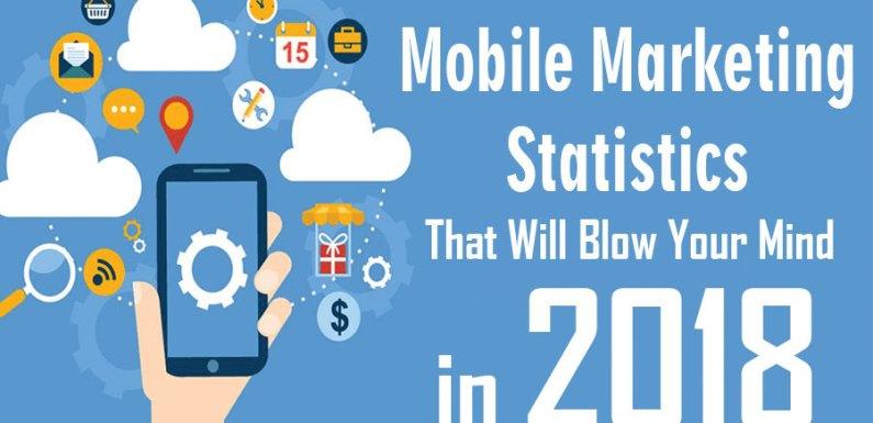 Mobile Marketing Statistics 2018 [Infographic]