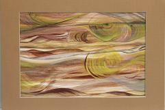 Organic Brush Strokes - Watercolor and Acrylic