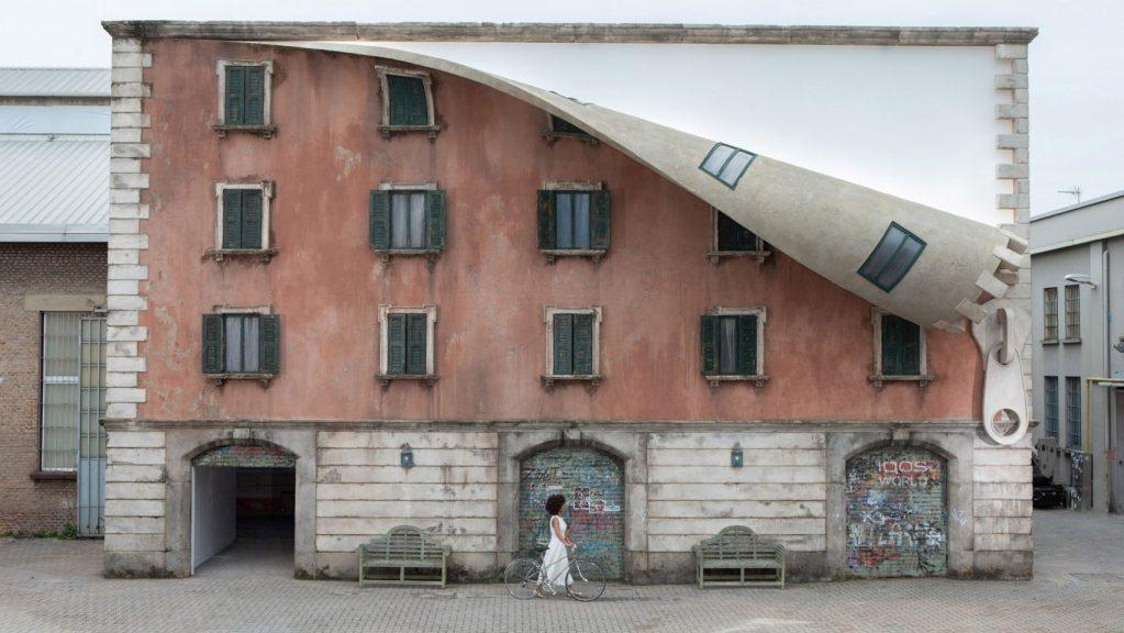New Installation by Alex Chinneck for Milan Design Week