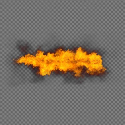 Fire Element Effect - alpha channel