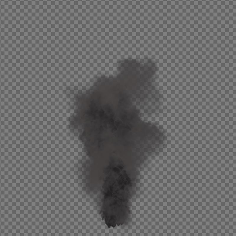Smoke - alpha channel