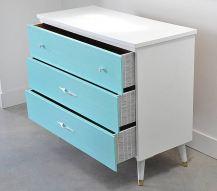 Vintage dresser with custom pattern