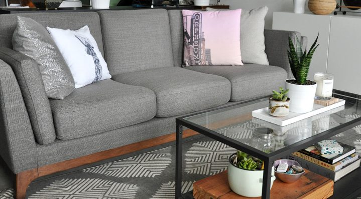 High Style Low Price Article Ceni Sofa In Pyrite Gray