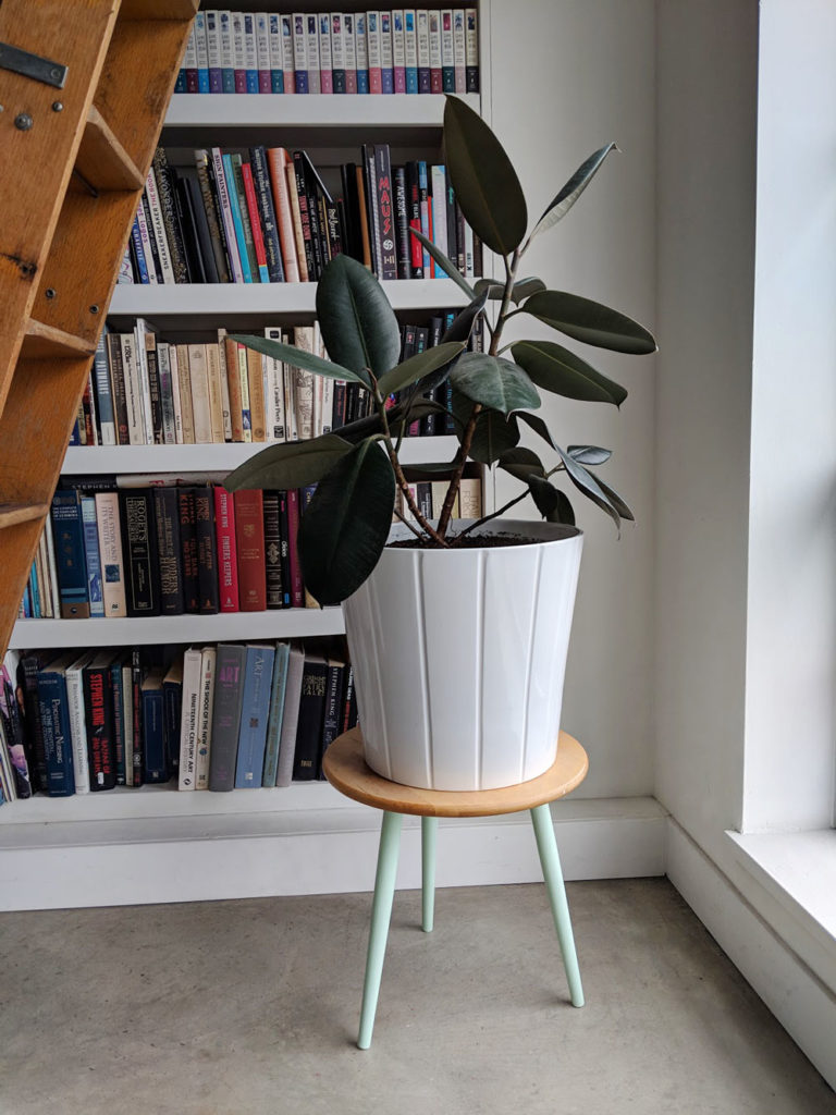 How To Make A Mid Century Style Plant Stand Ikea Hack Visual Heart Creative Studio
