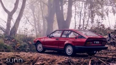 35X3 Maqueta escala 118 Alfa Romeo GTV 1980 by Raul Sunn 1