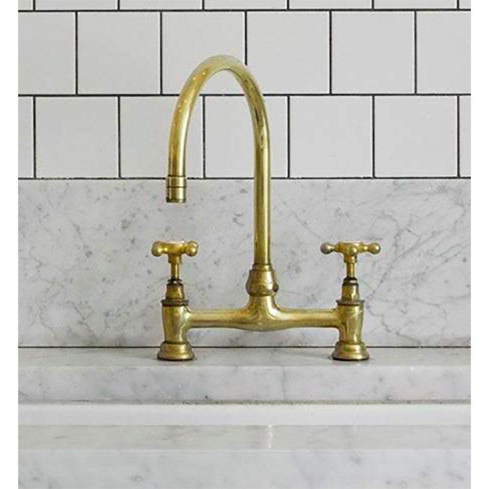 antique brass kitchen faucet you ll