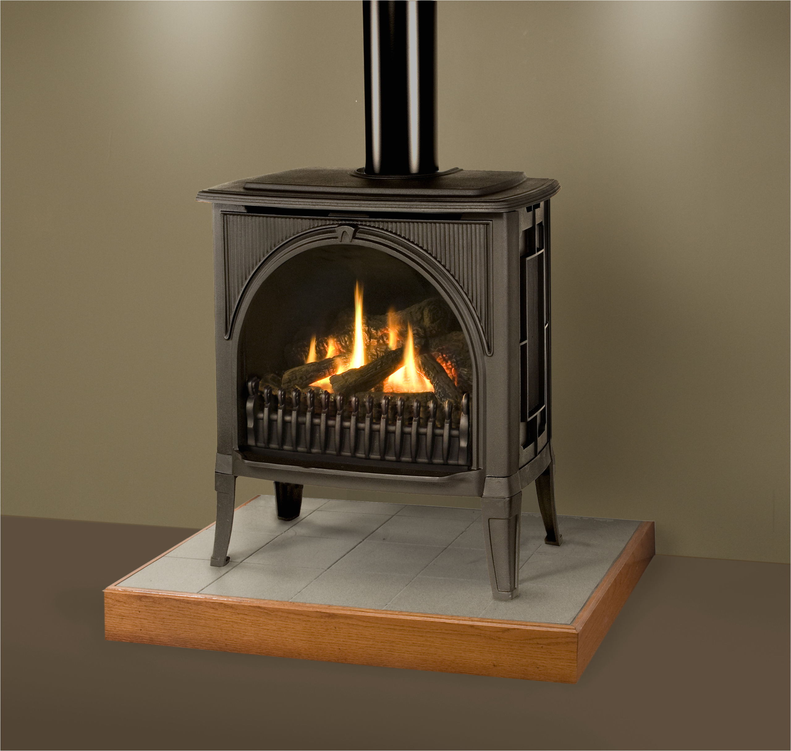 The fireplace is a sealed combustion chamber that draws air from outside the home. 50 Free Standing Ventless Gas Fireplace Visualhunt