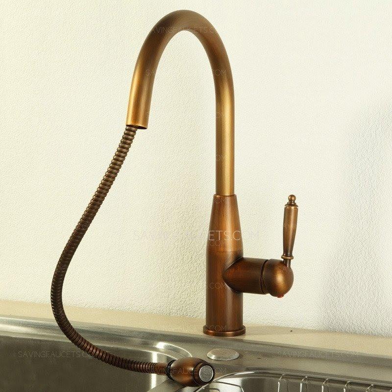 https visualhunt com antique brass kitchen faucet