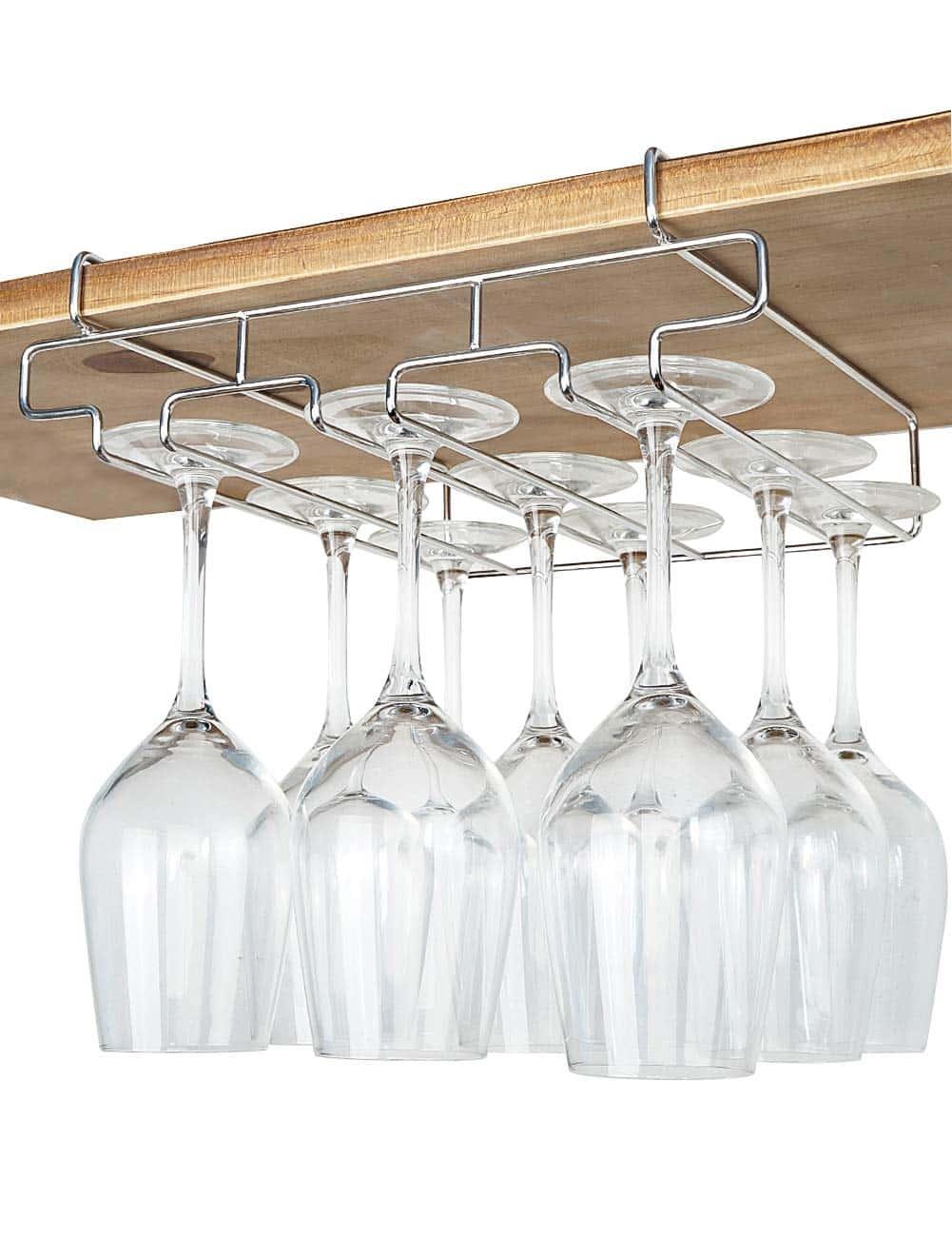 newthinking wine glass rack under