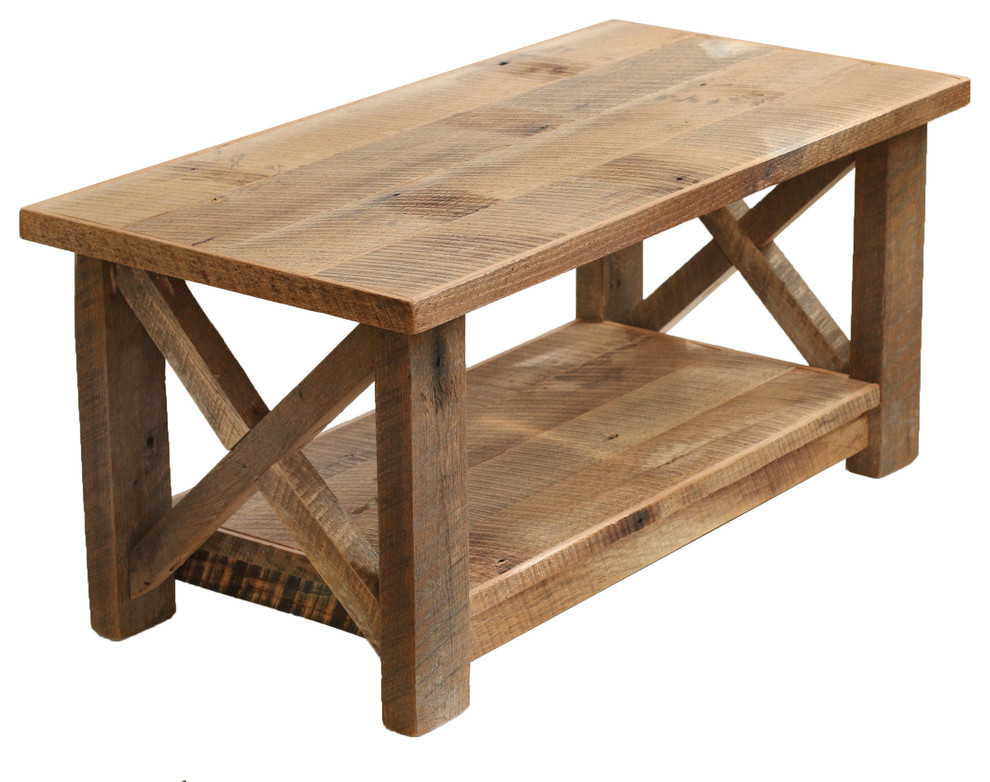 barnwood coffee table you ll love in