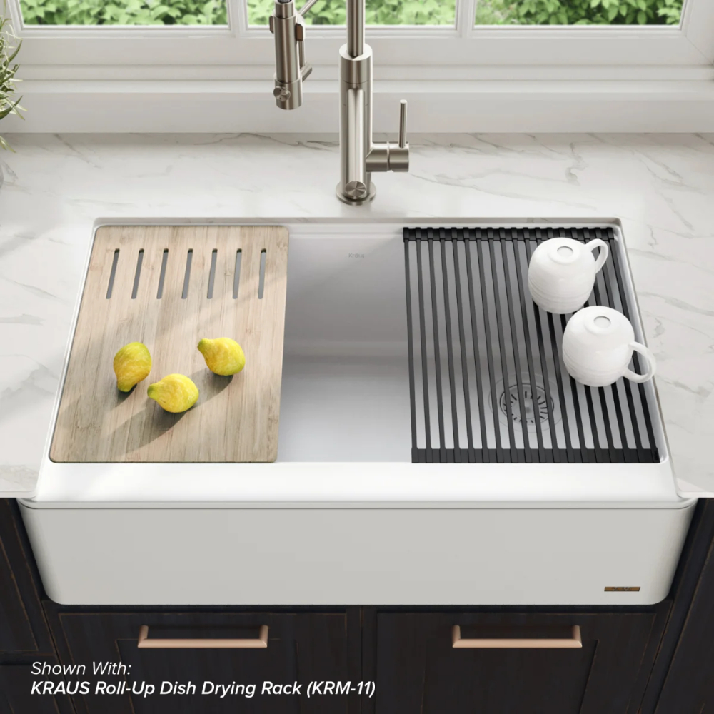 top mount farmhouse sink you ll love in