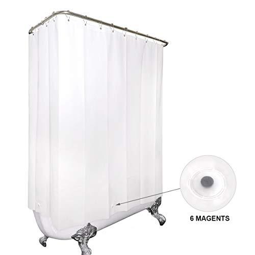 clawfoot tub shower curtain you ll love