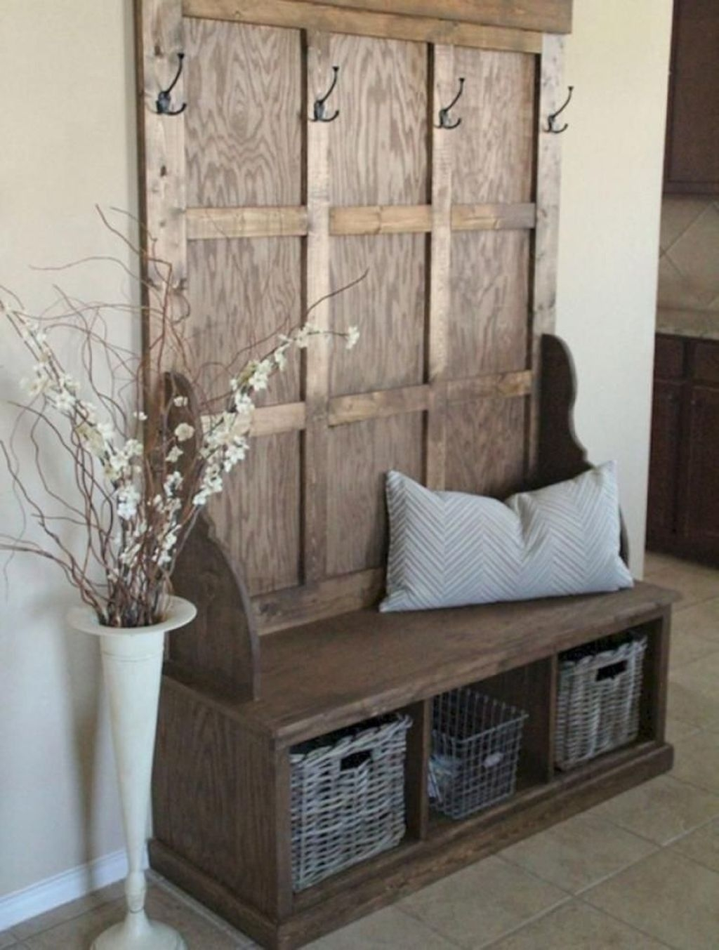 coat rack with bench you ll love in