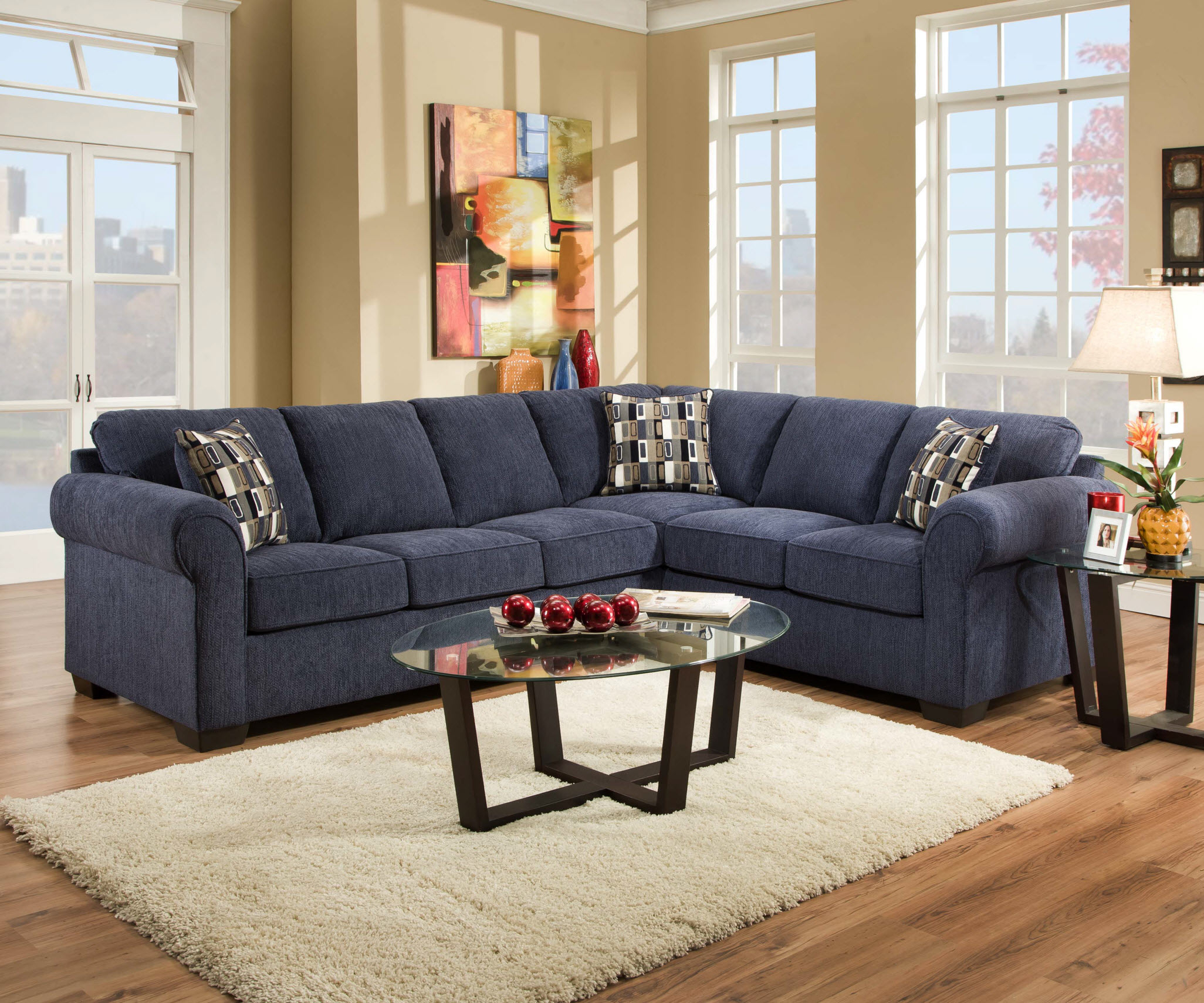 navy blue sectional couch you ll love