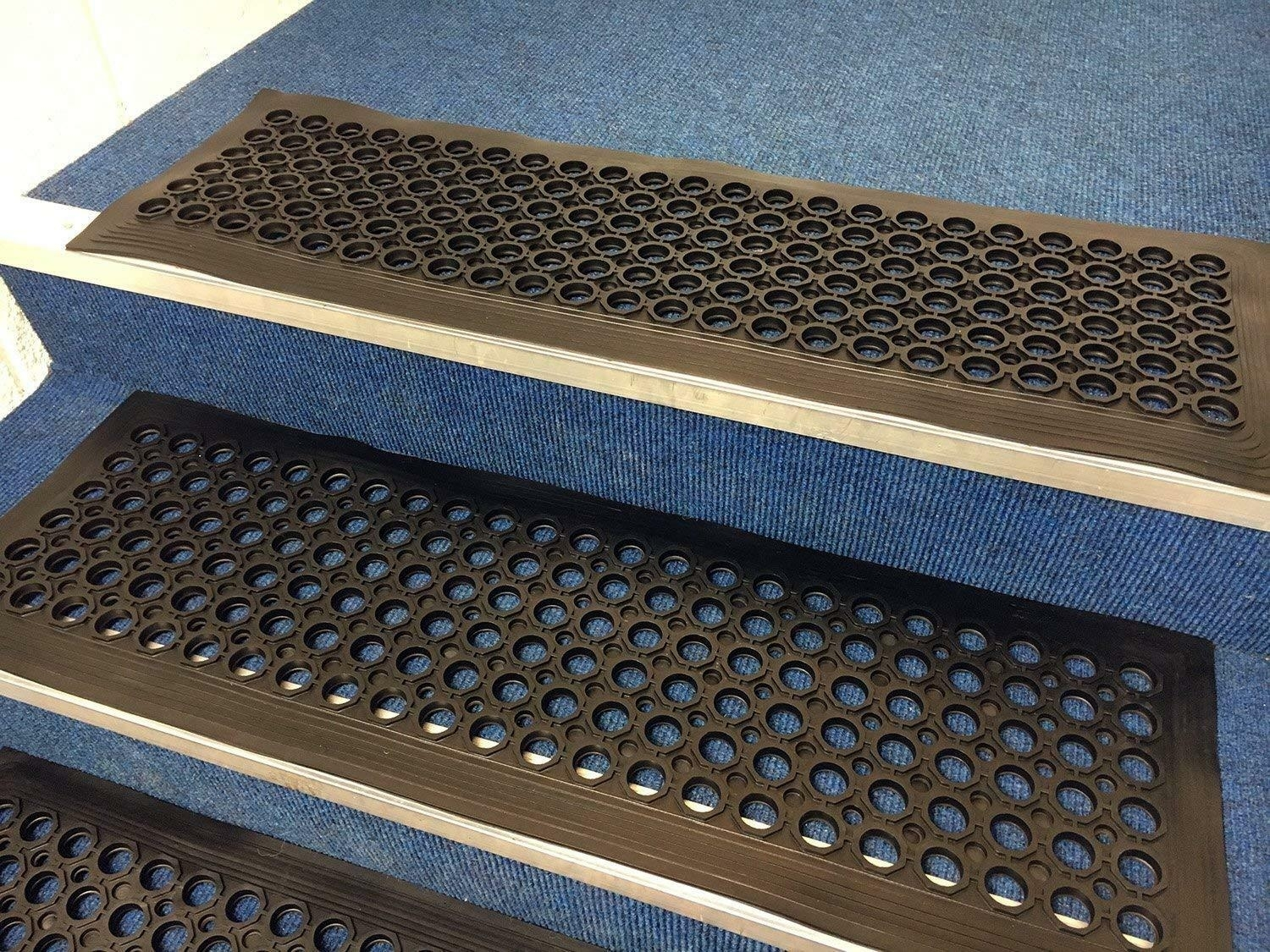 50 Outdoor Rubber Stair Treads You Ll Love In 2020 Visual Hunt   Outdoor Tread For Steps   Pressure Treated   Wood   Deck Stairs   Non Slip   Granite