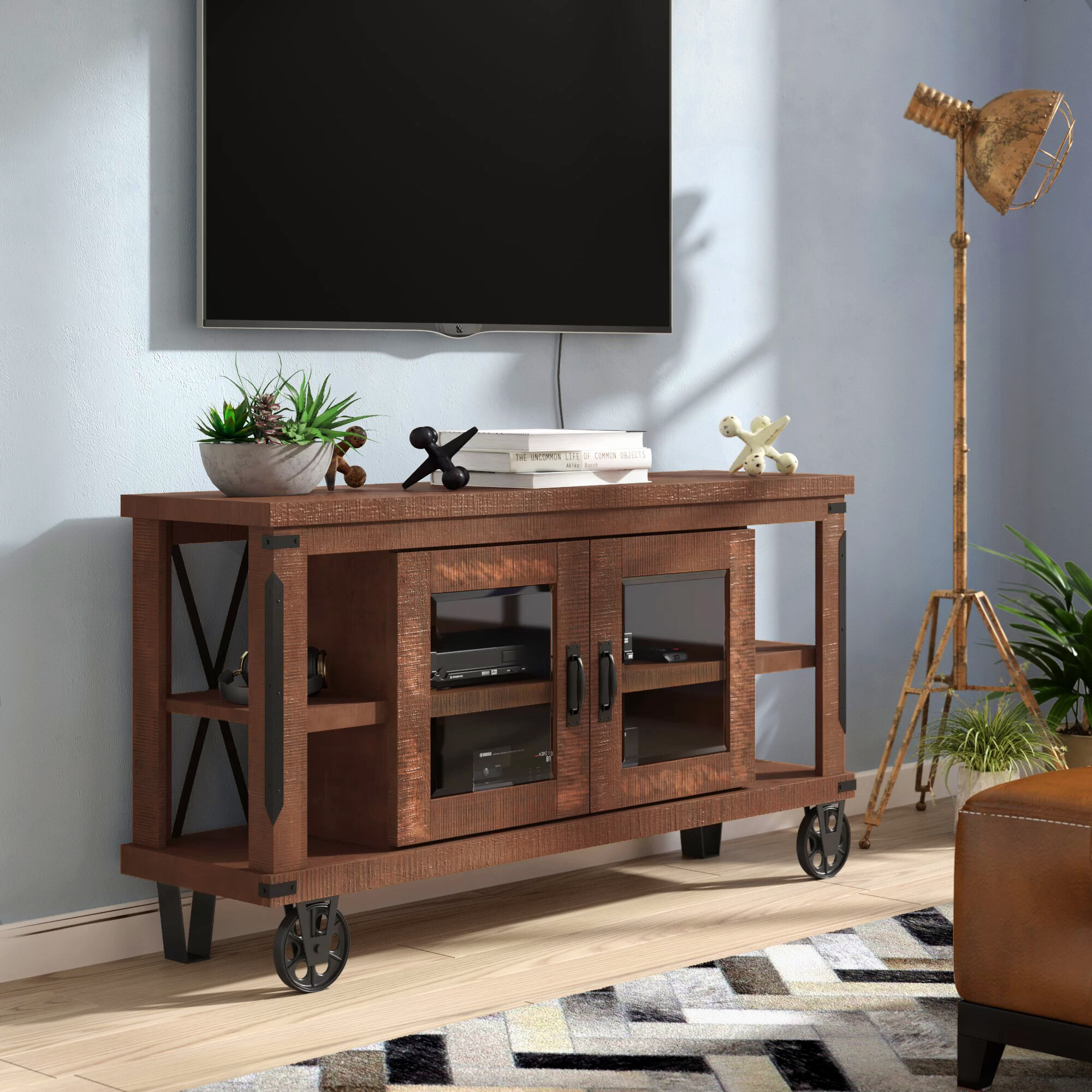 tv stand on wheels you ll love in 2021