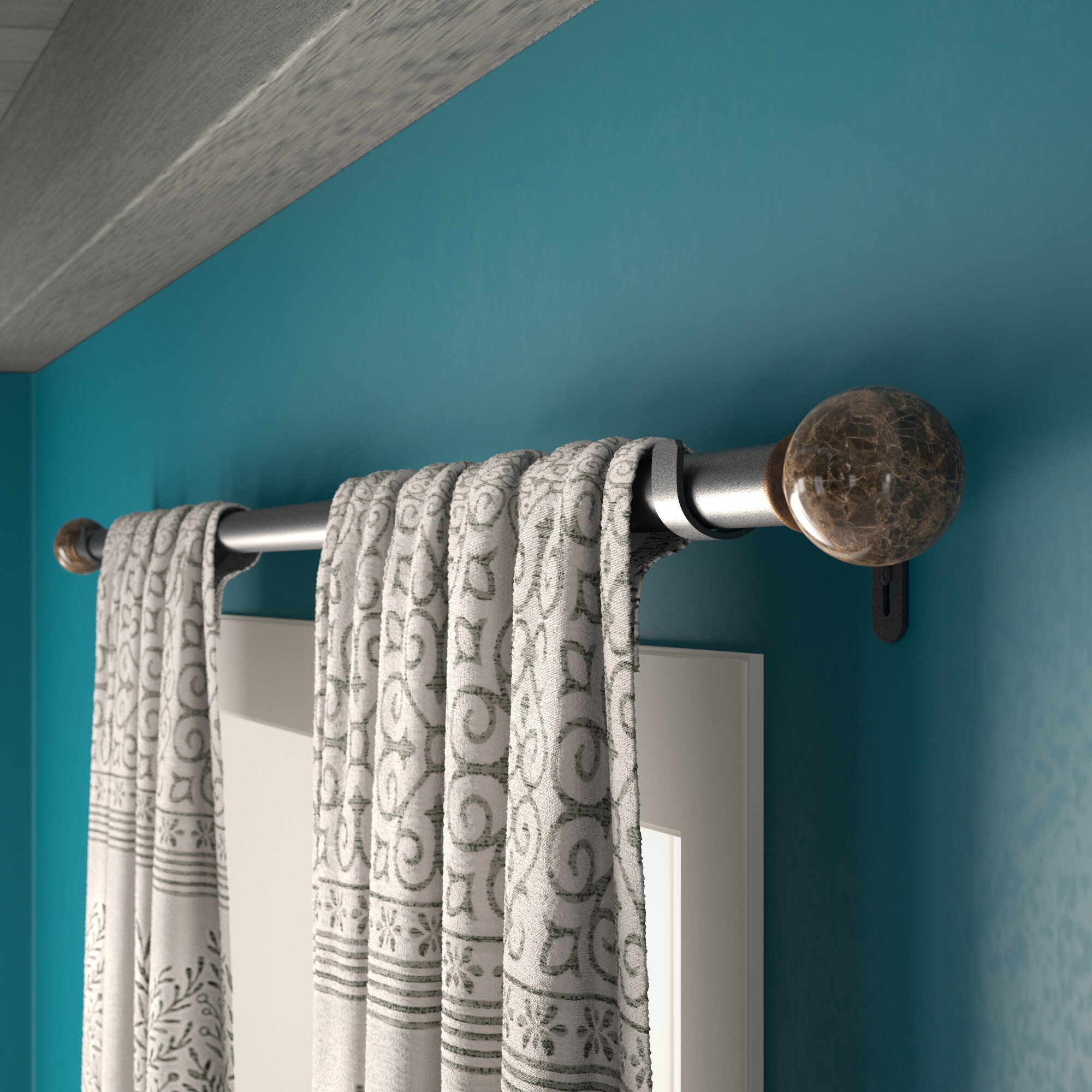 heavy duty curtain rods you ll love in