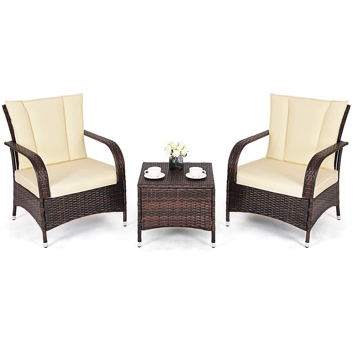 modern outdoor furniture dark brown patio