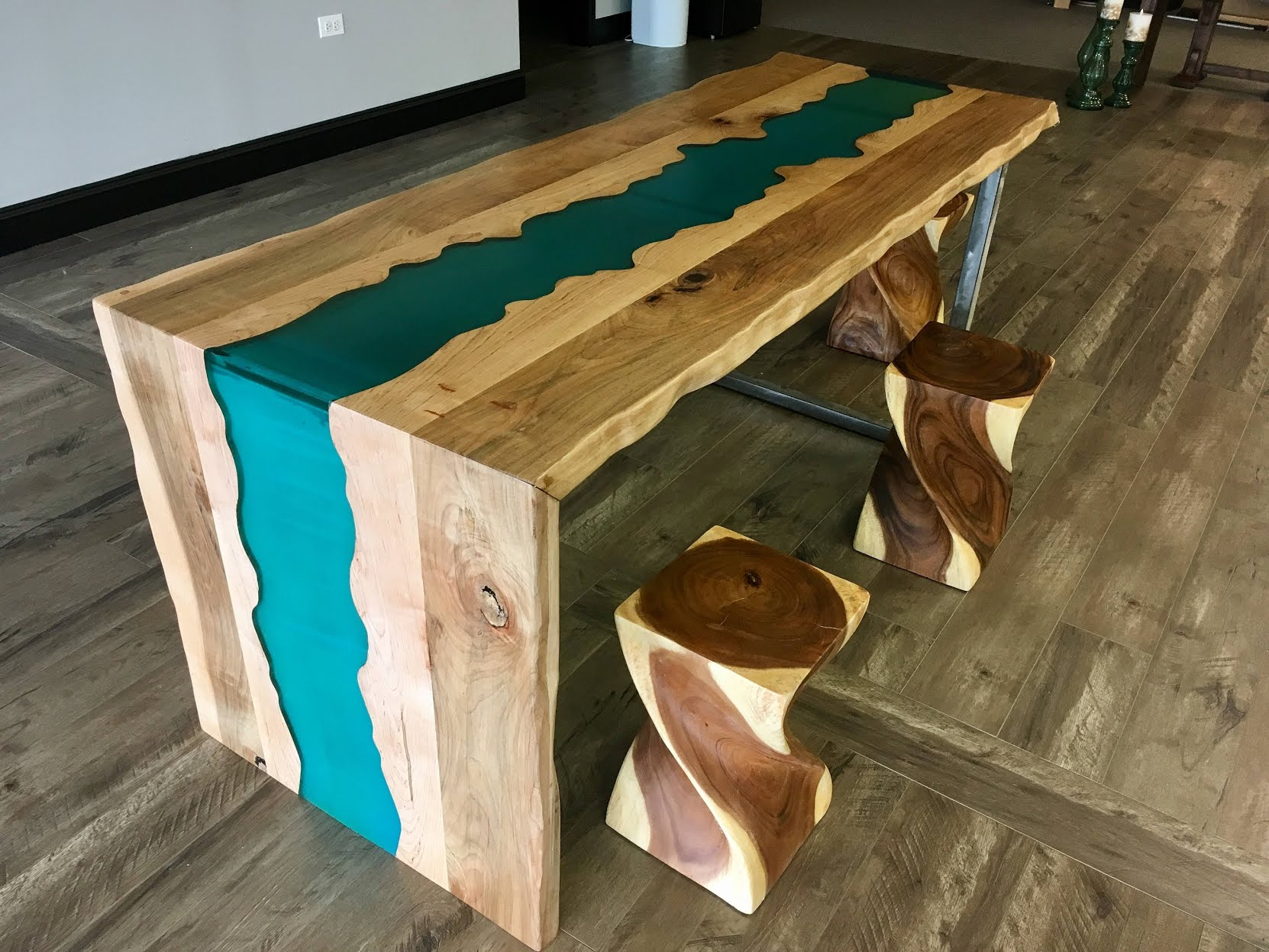 live edge epoxy table you ll love in