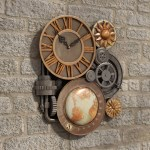 Large Decorative Wall Clocks For Sale You Ll Love In 2020 Visualhunt