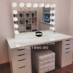Makeup Vanity Table With Lighted Mirror You Ll Love In 2021 Visualhunt